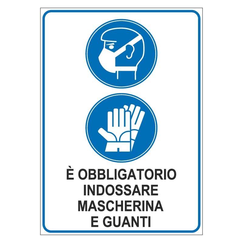 Obbligo mascherina e guanti Covid-19